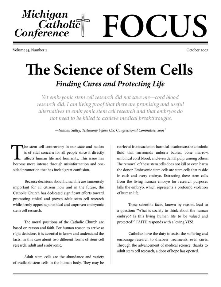 newspaper reports on stem cell research In making his announcement, mr obama drew a strict line against human cloning, an issue that over the years has become entangled with the debate over human embryonic stem cell research.