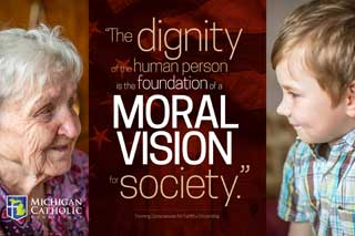 The dignity of the human person is the foundation of a moral vision for society. —Forming Consciences for Faithful Citizenship