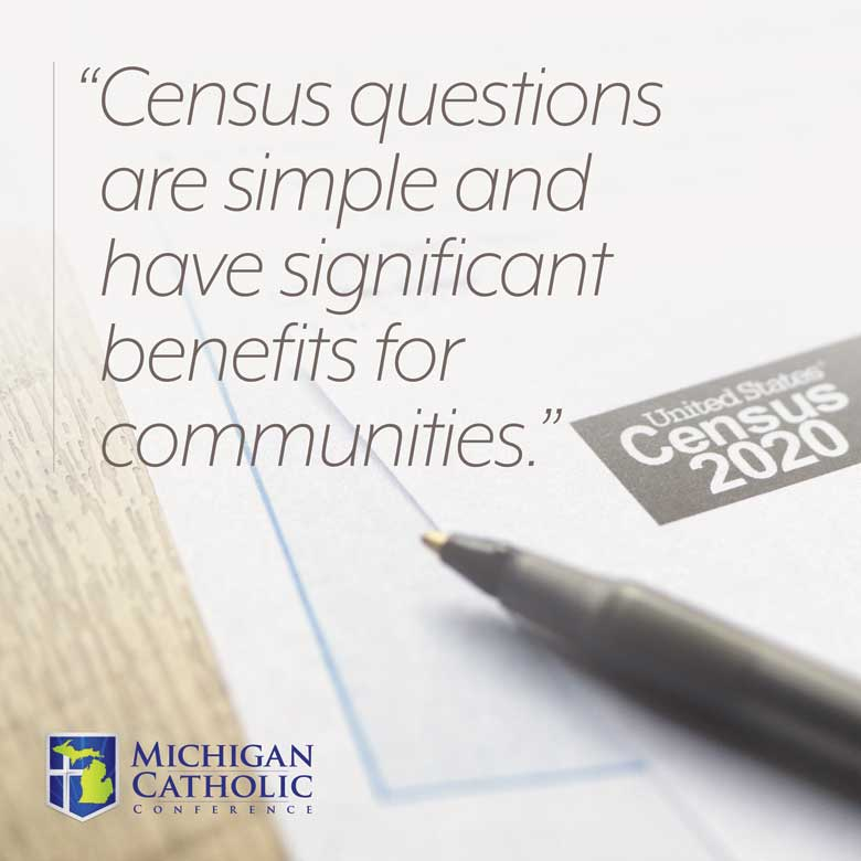 Census questions are simple and have significant benefits for communities.