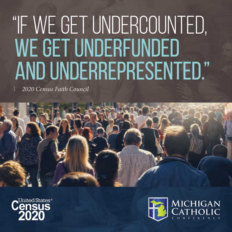 If we get undercounted, we get underfunded and underrepresented.