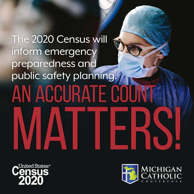 The 2020 Census will inform emergency preparedness and public safety planning. An accurate count matters.