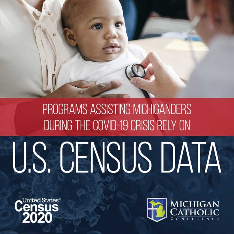 Programs assisting Michiganders during the COVID-19 crisis rely on U.S. Census data.