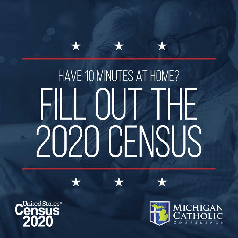 Have 10 minutes at home? Fill out the 2020 census.