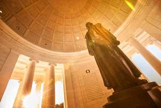 Inside the Thomas Jefferson Memorial