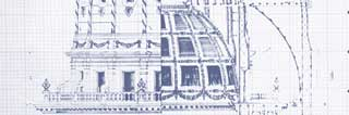 Blueprint of the Michigan Capitol