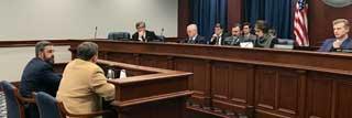 MCC's Tom Hickson testifies before the Senate Families, Seniors, and  Human Services Committee in support of Senate Bill 752 alongside its sponsor, Senator Wayne Schmidt