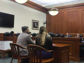MCC staff testify on behalf of the FIP Grace Period for Marriage Bill in the House Families, Children, and Human Services Committee