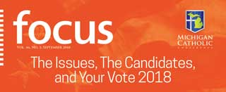 Front cover of The Issues, The Candidates, and Your Vote 2018