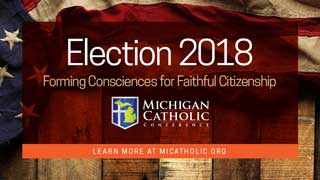Election 2018: Forming Consciences for Faithful Citizenship. Learn more at micatholic.org