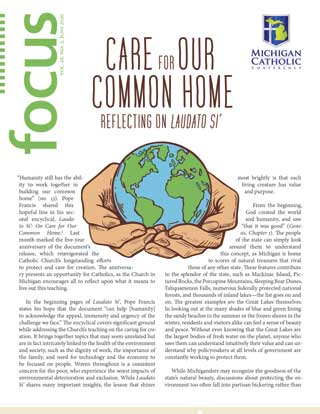 Front cover of FOCUS essay