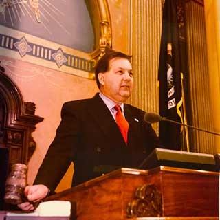 Former state Senator Arthur Miller Jr.