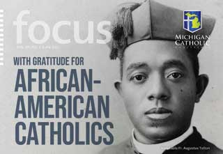 """Front cover of """"With Gratitude for African-American Catholics"""""""
