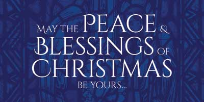May the peace & blessings of Christmas be yours…