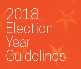 2018 Election Year Guidelines