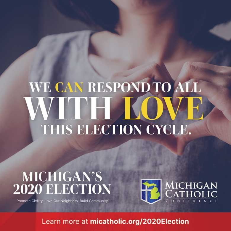 We can respond to all with love this election season.