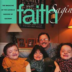 Front cover of the Spring 2016 issue of Faith Magazine: Saginaw