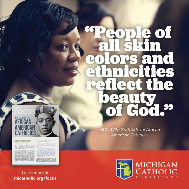 """""""People of all skin colors and ethnicities reflect the beauty of God."""""""