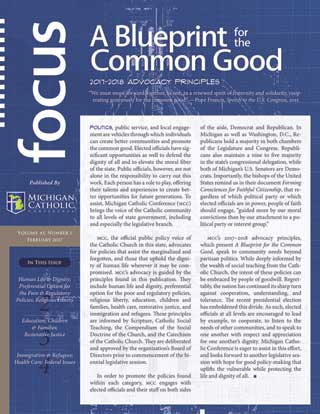 Front cover of A Blueprint for the Common Good