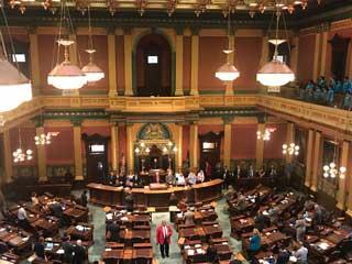2017 Legislative Reception Invocation at the Michigan State Capitol