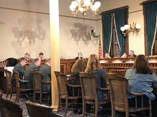 The Michigan Association of Nonpublic Schools (MANS), which accredits and supports Catholic and other faith-based schools, testifies before the House and Senate School Aid Appropriation Subcommittees about the importance of shared time.