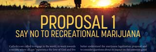 Front cover of Proposal 1: Say No to Recreational Marijuana