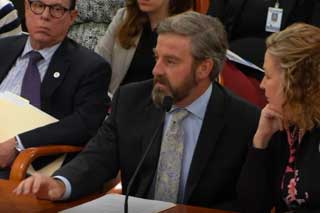 Tom Hickson, Vice President for Public Policy and Advocacy, testifies before the House Financial Services Committee on House Bill 4251