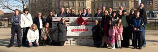 MCC and members of the Catholic community submit 379,418 total signatures to the Board of State Canvassers to end the second trimester dismemberment abortion procedure